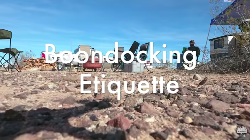 Boondocking For Beginners 1
