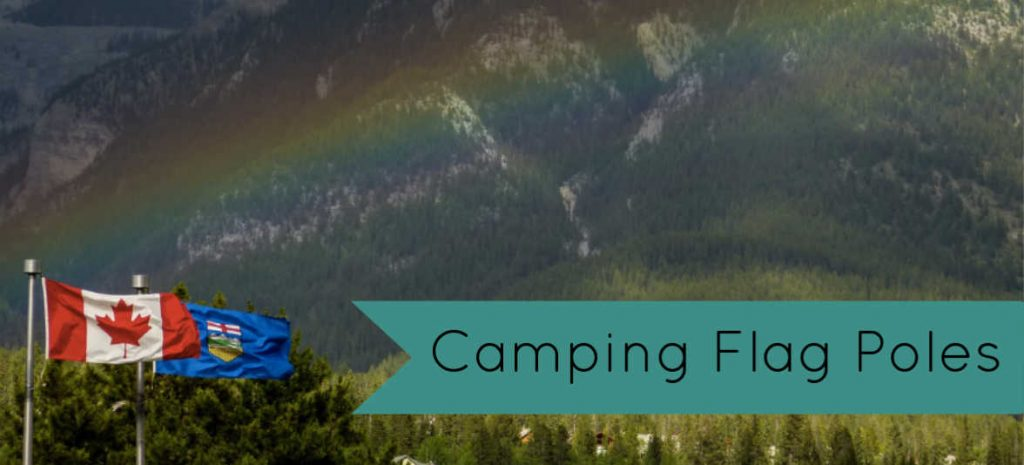 RV Camping Flags and flagpoles