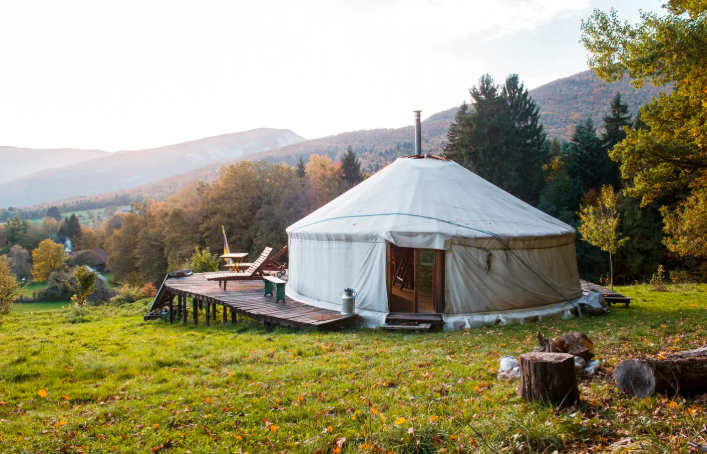 11 Yurts that will have you Glamping in no time 1
