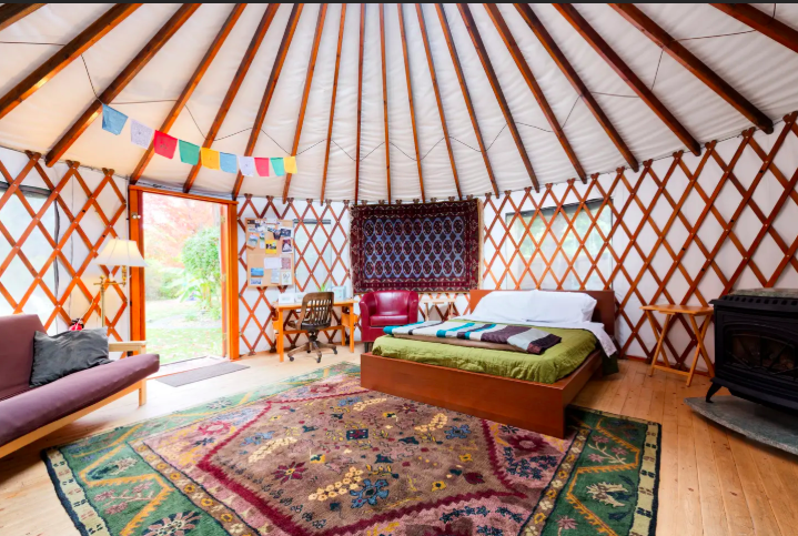 11 Yurts that will have you Glamping in no time 13