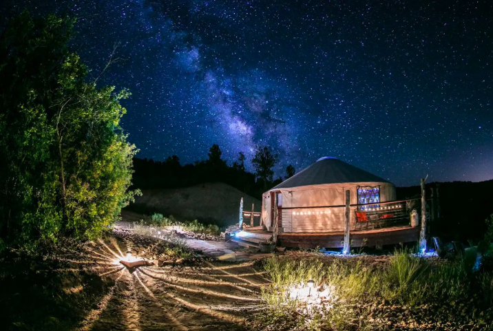 11 Yurts that will have you Glamping in no time 17