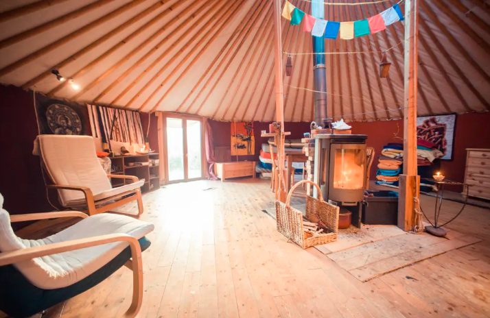 11 Yurts that will have you Glamping in no time 2