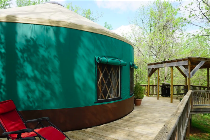 11 Yurts that will have you Glamping in no time