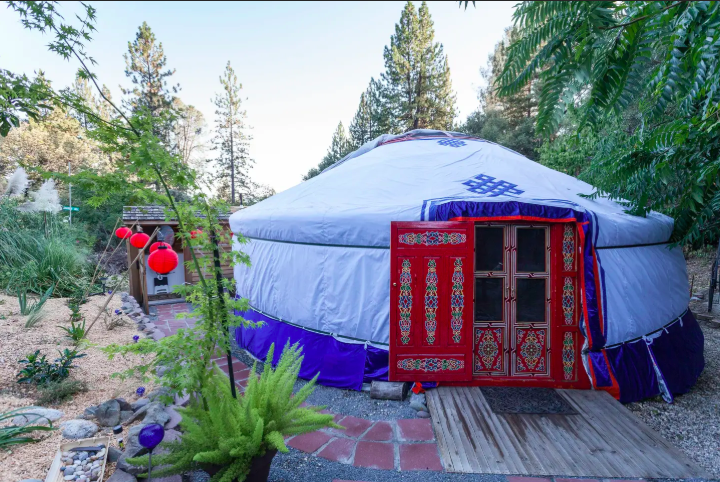 11 Yurts that will have you Glamping in no time 7