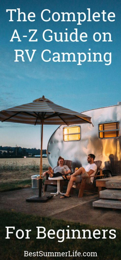 The Complete A-Z Guide for RV Camping for Beginners
