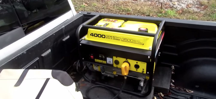 Portable Duel Fuel Generators for powering an RV or travel trailer