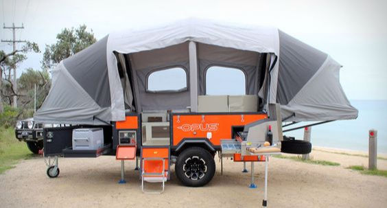 The History of Pop-Up Campers