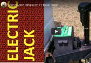 Travel Trailer Electric Tongue Jack Installation ft2