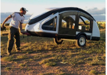 The Lightest Teardrop Trailer: Also the Most Expensive